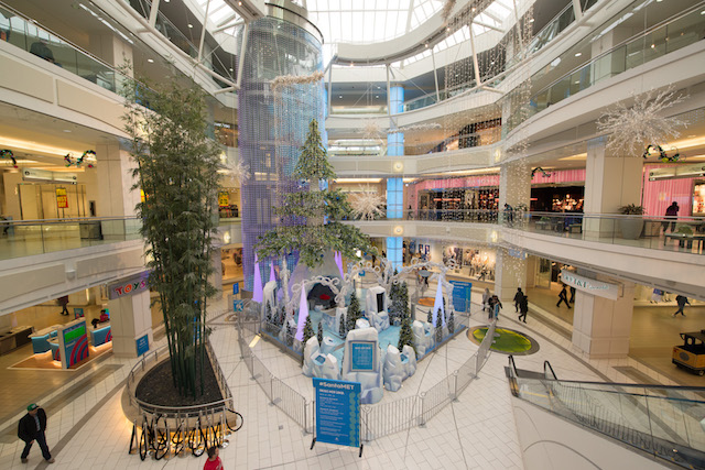 Holiday Shopping at Metropolis at Metrotown
