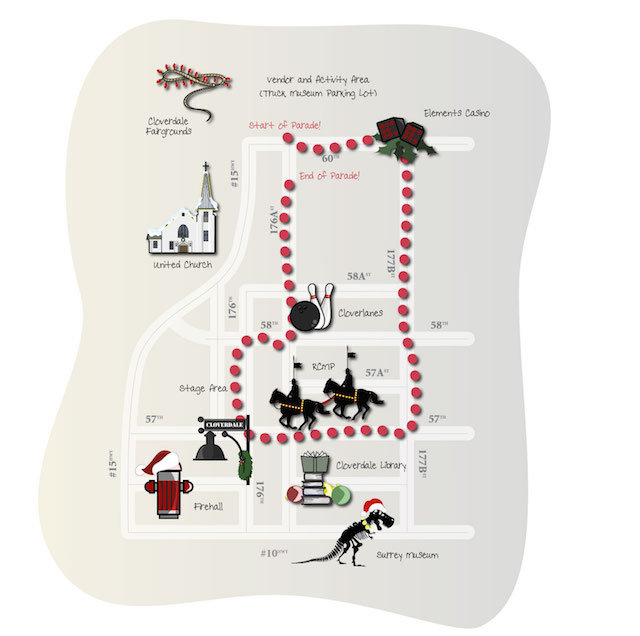 Surrey-Santa-Parade-Route-2019