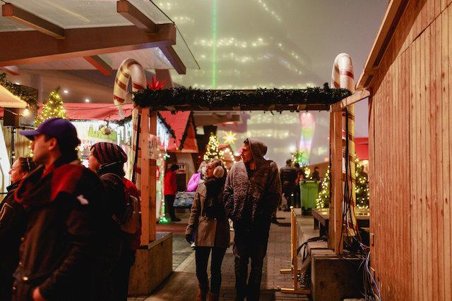 Vancouver Christmas Market. Photo by Lindsay Elliott.