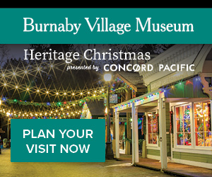 Burnaby Village Heritage Christmas