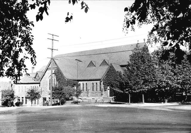 1920 Georgia and Burrard, Christchurch Cathedral.