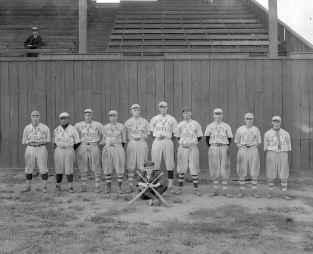 Baseball in Vancouver 1920 - Arnold & Quigley [Base]ball Team