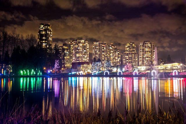 Coquitlam - lafarge lights 2