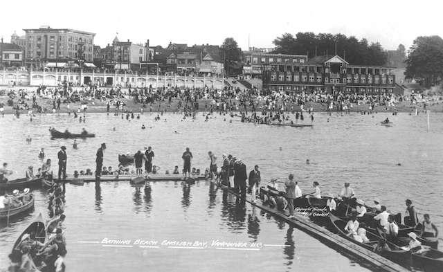 English Bay Beach 1920