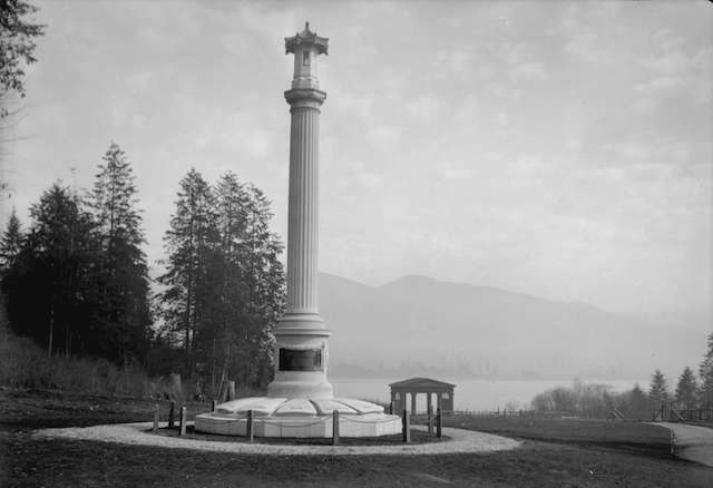 Japanese Canadian War Memorial Stanley Park