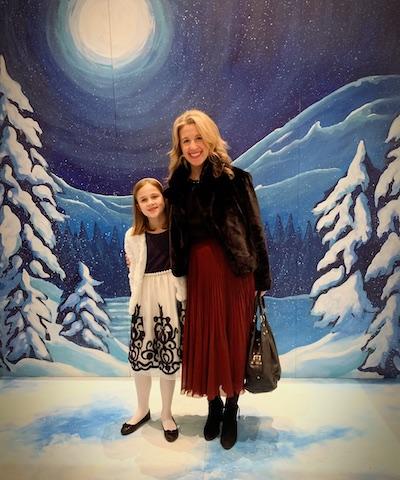 Jen & her daughter ready for Goh Ballet's The Nutcracker!