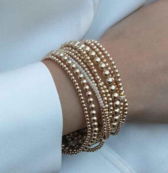 blue ruby cause we care bracelets