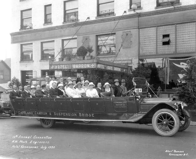 Vancouver Tour Bus 1920