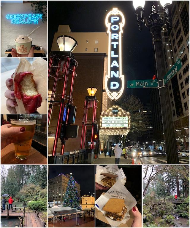 Winter in Portland