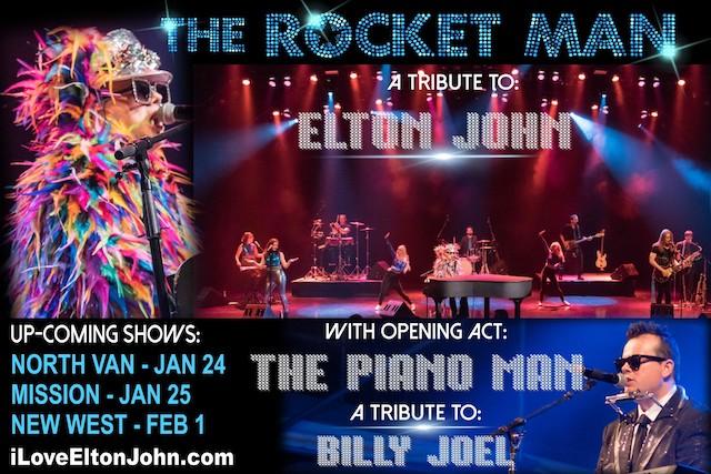 The Rocket Man, A Tribute to Elton John