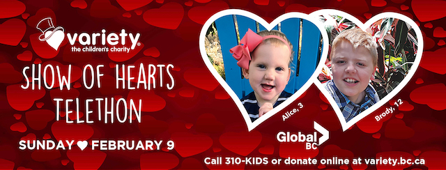 The Variety BC Show of Hearts Telethon 2020