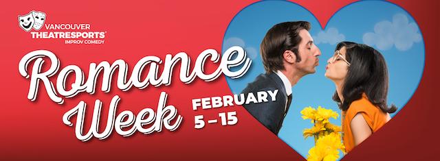 Vancouver TheatreSports Romance Week 2020