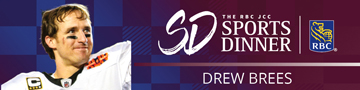 JCC Sports Dinner 2020 with Drew Brees