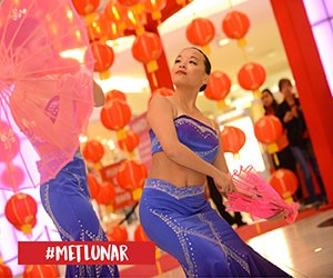 Lunar New Year at Metropolis at Metrotown
