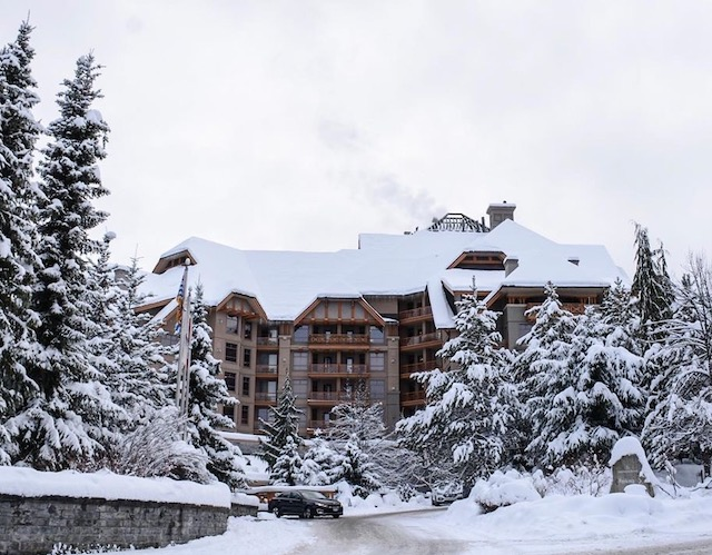 Four Seasons Whistler Winter Facebook