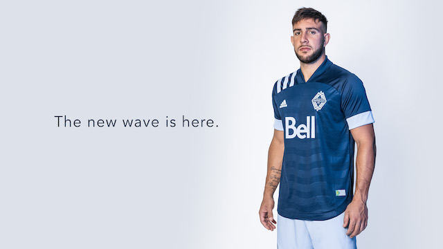 Vancouver Whitecaps FC Wave Jersey