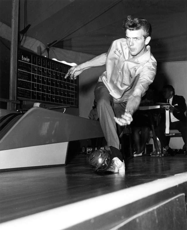 5 Pin Bowling Contestant at the PNE 1967. Archives # CVA 180-3967.