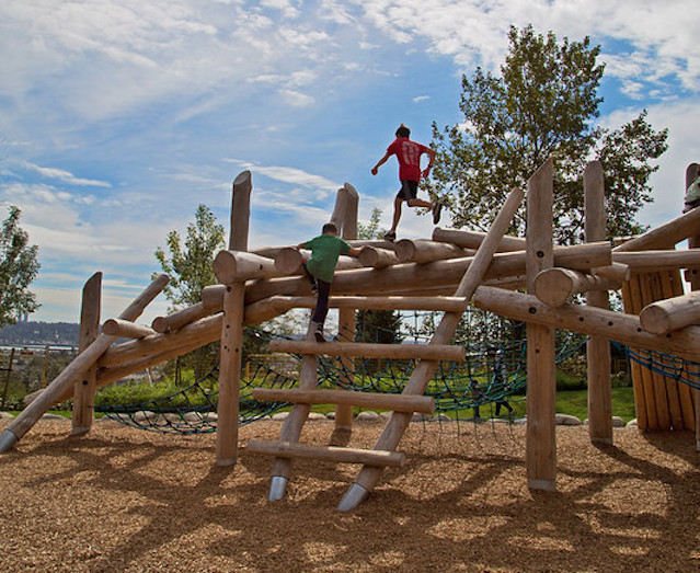 The Playground at Coquitlam's Rochester Park
