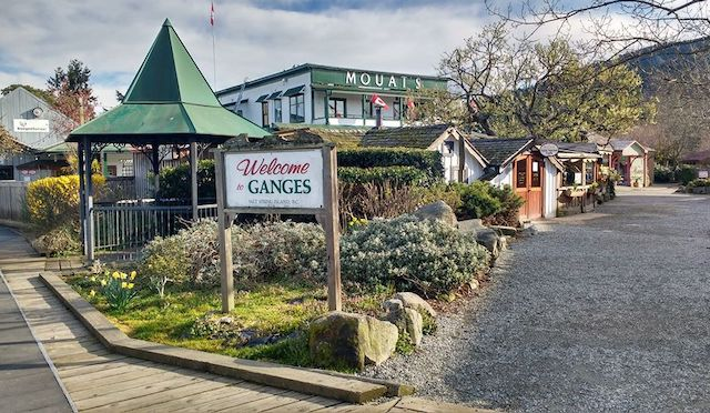 Ganges Salt Spring Air Photo
