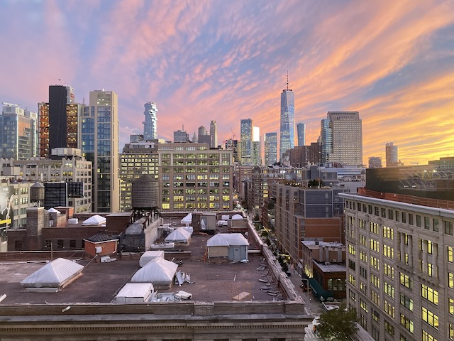 New York view by Anne MacKenzie