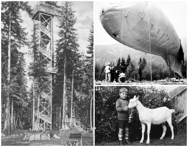 North Van Archives Collage