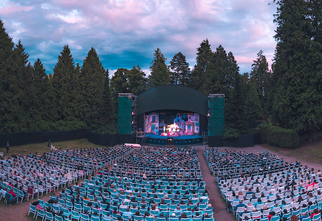 Theatre Under the Stars at Stanley Park's Malkin Bowl. Photo by Shawn Bukhari.