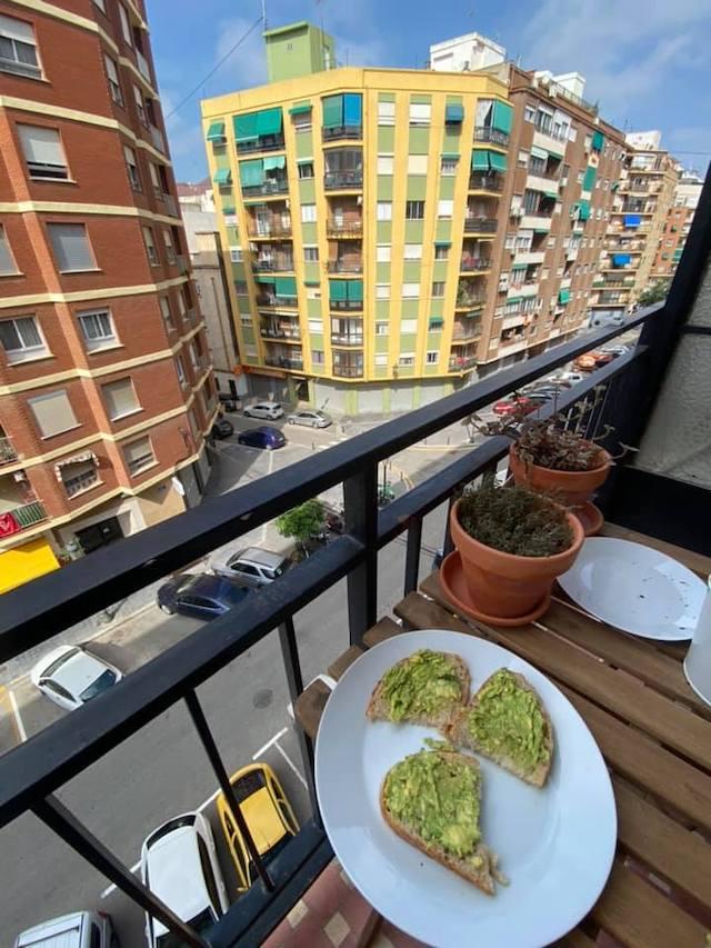 April 2020 Duane Spain Balcony
