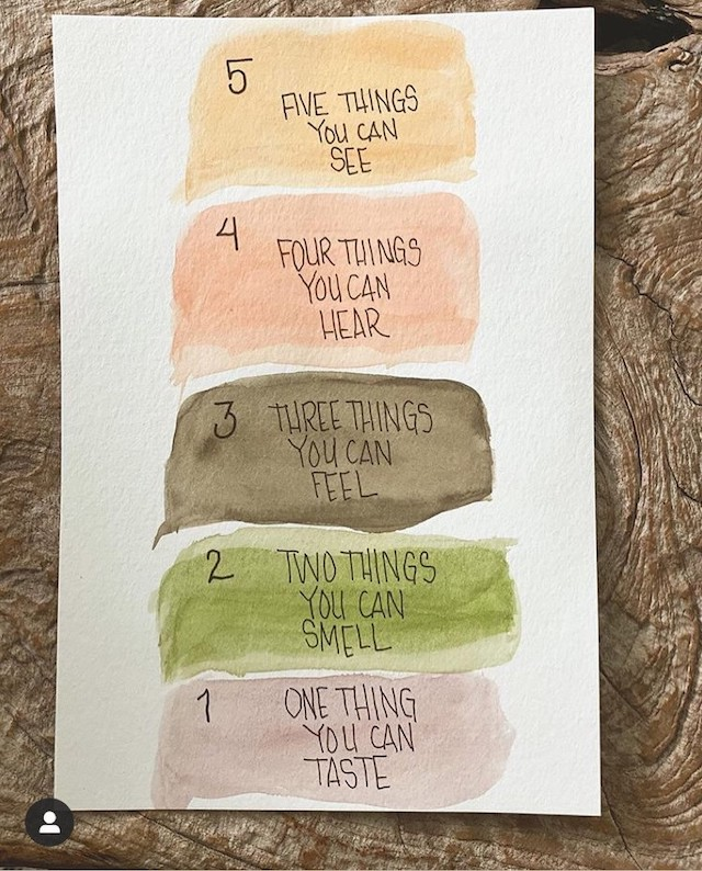 Covenant House Mindfulness 5 Things