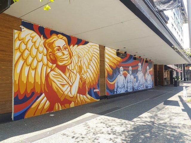 Granville Mural COVID
