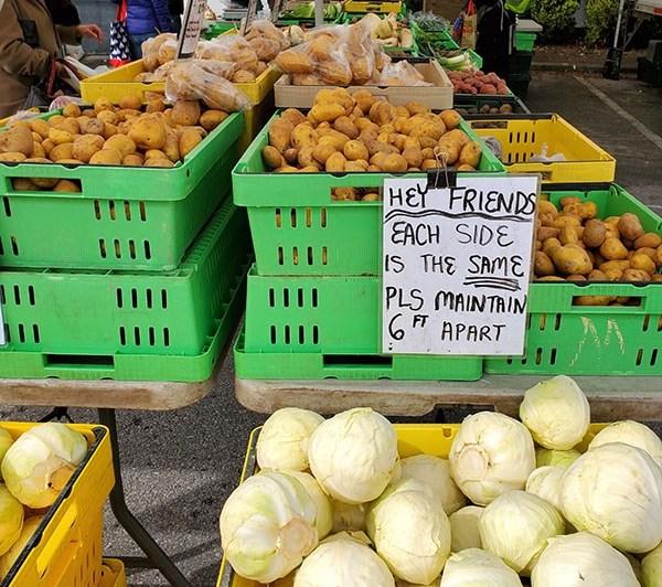 Vancouver Farmers Market COVID