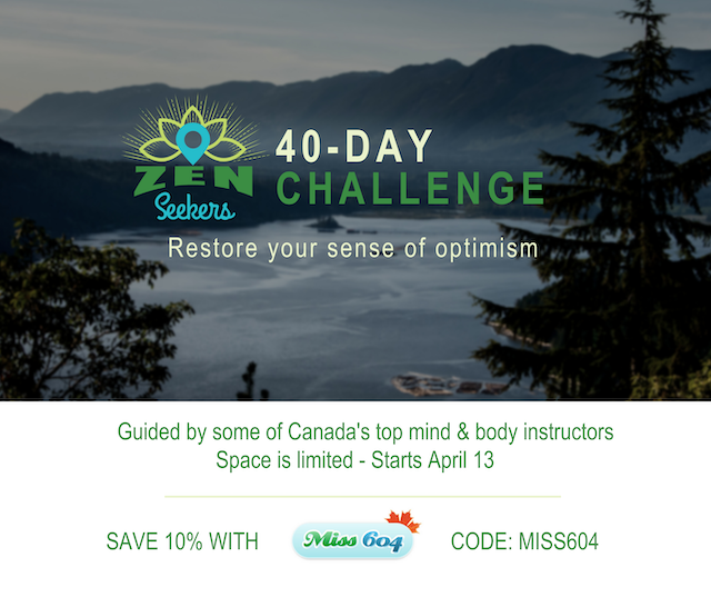 ZenSeekers 40-Day Challenge Facebook Influencer Post (3)