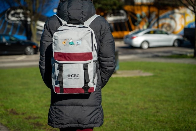 CBC Vancouver backpack