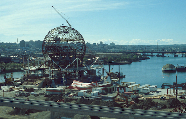 1984 Science World Construction Archives CVA 780-505