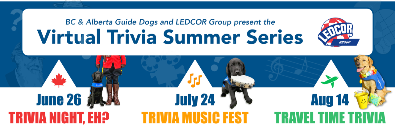 Virtual Trivia Night for BC Alberta Guide Dogs