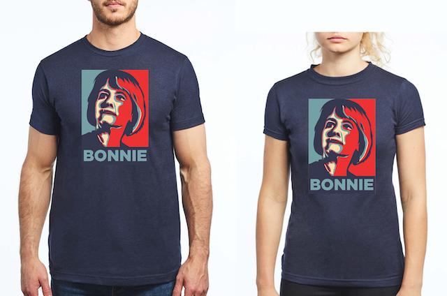 Team Bonnie Shirts