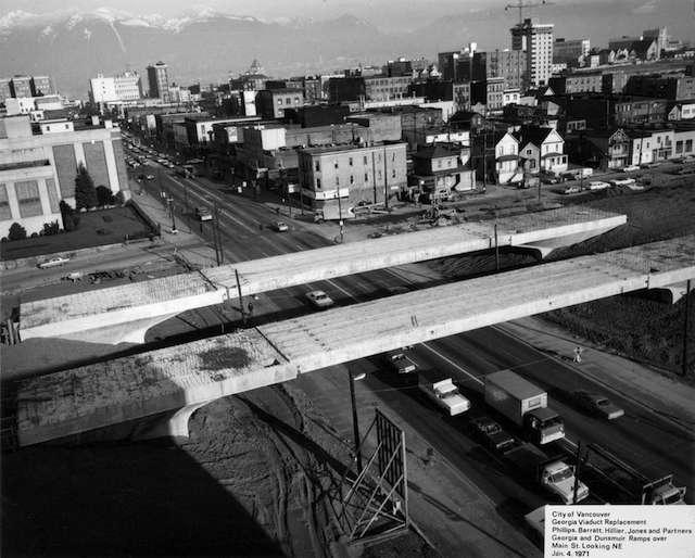 1971 Viaducts through Strathcona. Archives#  CVA 216-1.23
