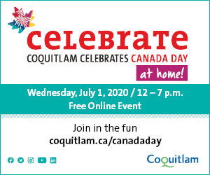 Coquitlam Canada Day at Home 2020