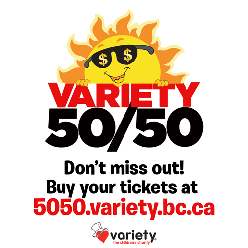 50/50 Raffle for Variety