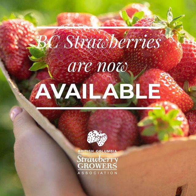 BC Strawberry Season
