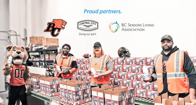 Central City BC Lions Hand Sanitizer