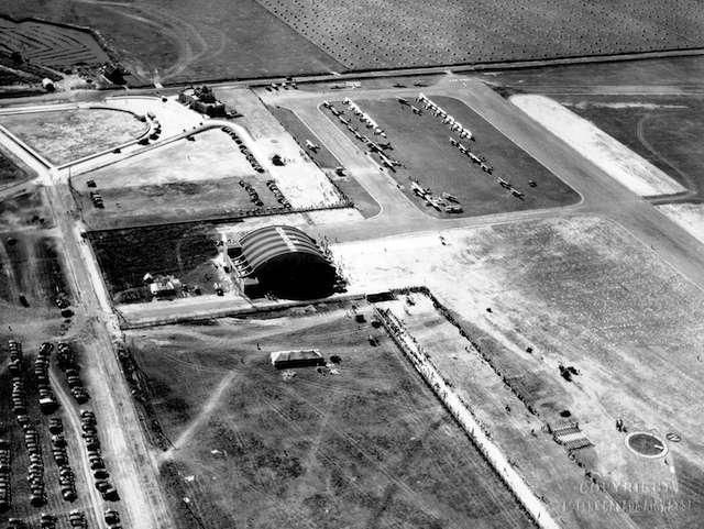 1931 YVR Airport Copyright Western Canada Airways Ltd. Archives # LP 45