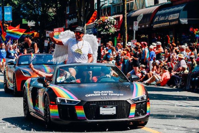 DJ O Show Vancouver Pride Parade