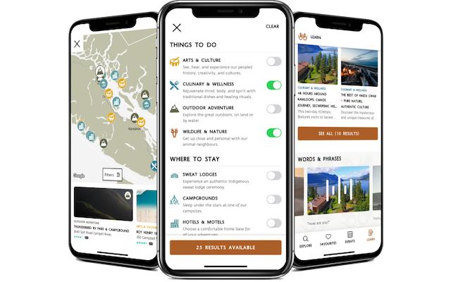 Indigenous Tourism BC App
