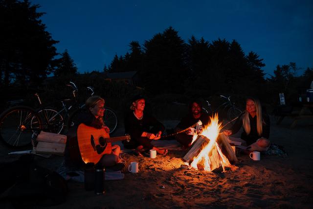 Relax Tofino Campfire Jaiden George