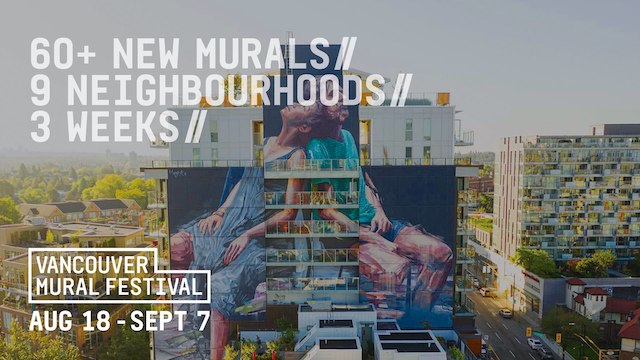 Vancouver Mural Festival 2020