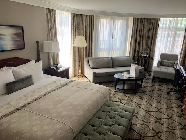 Magnolia Hotel Room. Steffani Cameron photo.
