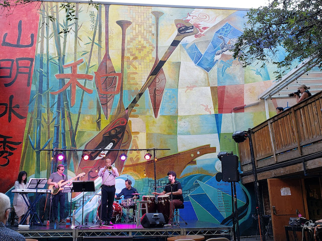 Music in the Courtyard - John Korsrud, Niho Takase, Ronny Swirl, Raphael Geronimo, and Chris Couto