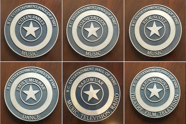 BC Entertainment Hall of Fame StarWalk Stars