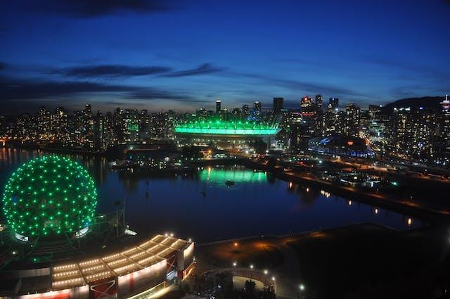 BC4CP landmarks light up green