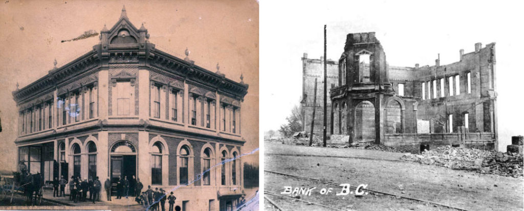 New Westminster Fire - Bank of BC